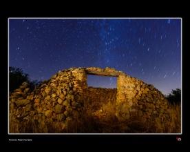 Chozo de piedras y estrellas. Almansa. Albacete